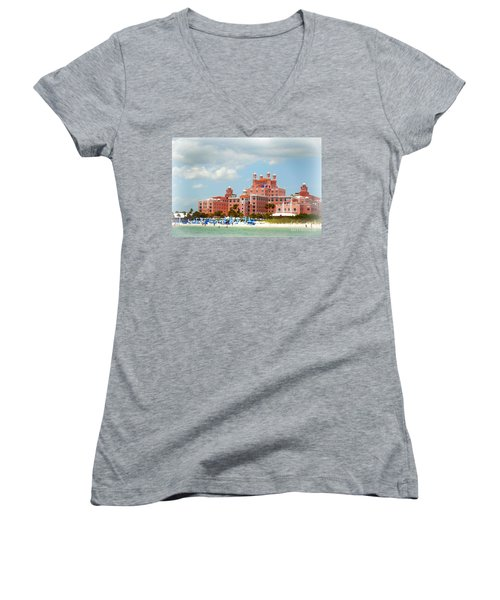 The Pink Palace Women's V-Neck T-Shirt