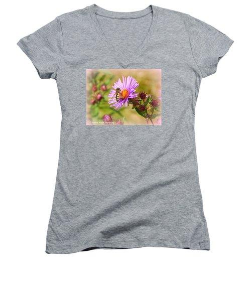 The Pollinator Women's V-Neck