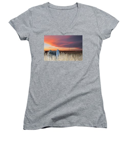 The Prairie Women's V-Neck T-Shirt