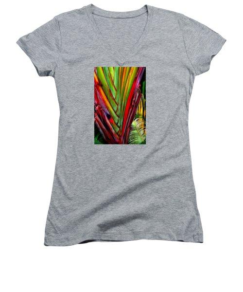 The Red Jungle Women's V-Neck T-Shirt