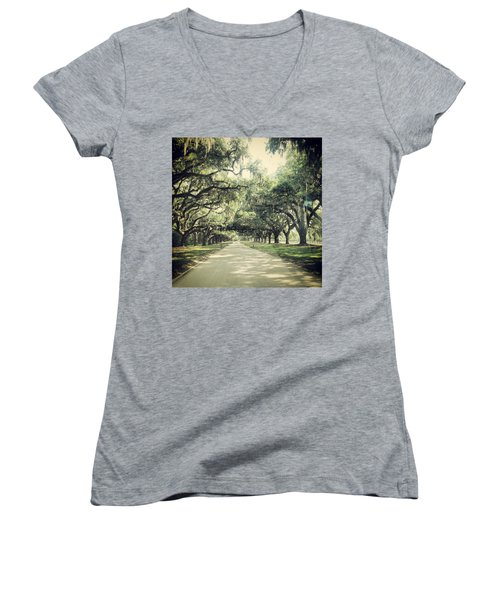 The Road From Boone Hall Women's V-Neck
