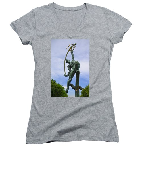The Rocket Thrower Women's V-Neck