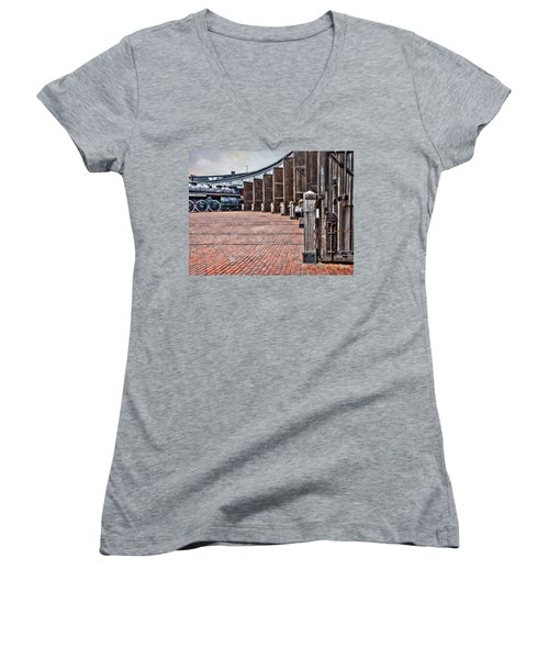 The Roundhouse Women's V-Neck (Athletic Fit)
