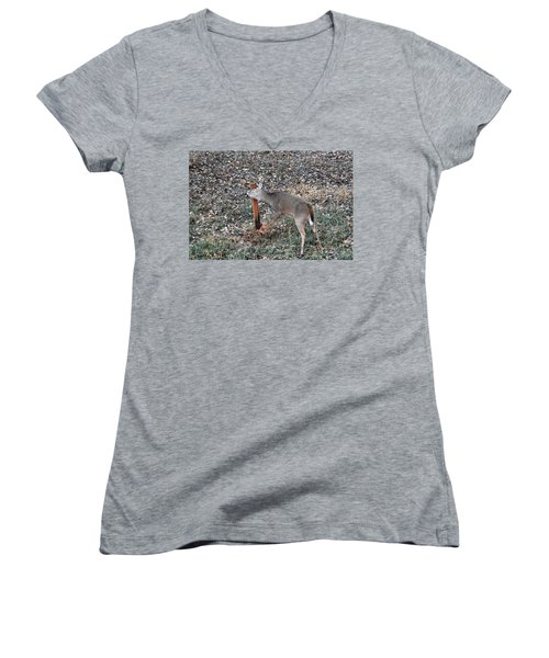 The Rut Women's V-Neck (Athletic Fit)