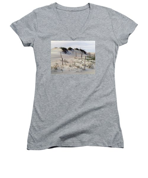 The Sands Of Obx Women's V-Neck (Athletic Fit)