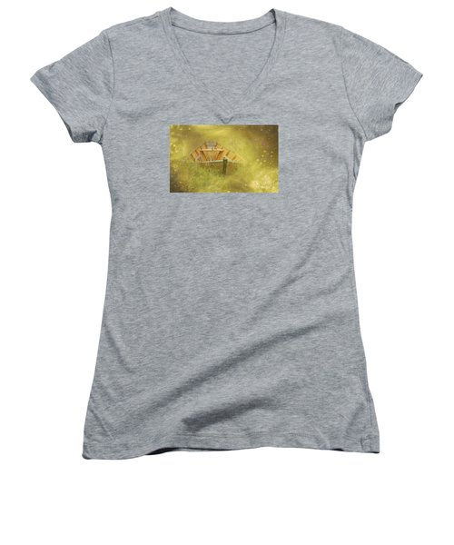 The Sea Of Dreams... Women's V-Neck