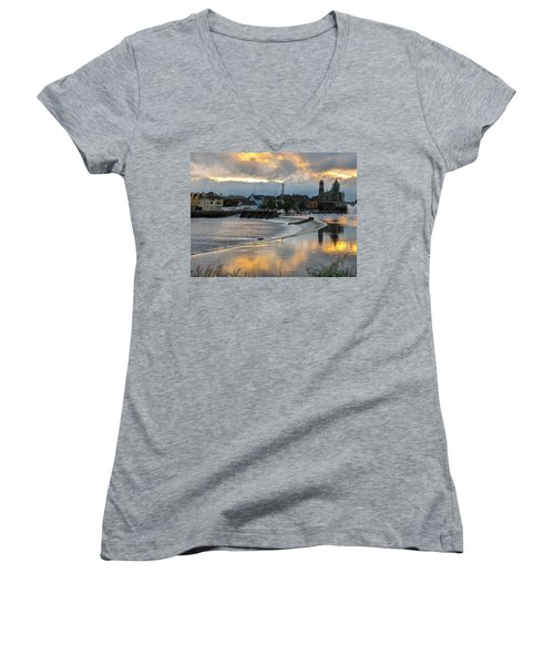 The Shannon River Women's V-Neck (Athletic Fit)