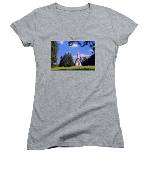 The Soldiers Monument Women's V-Neck