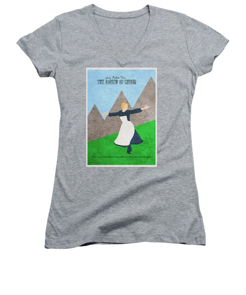The Sound Of Music Women's V-Neck T-Shirt
