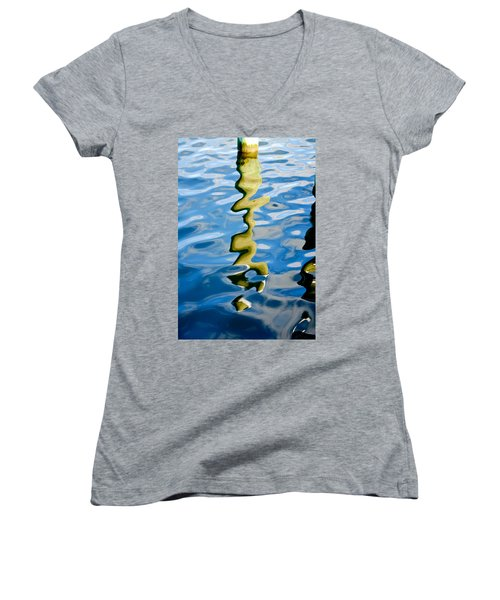 The Transformative Power Of Water Women's V-Neck (Athletic Fit)