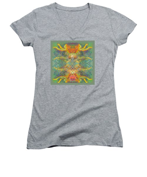 The Tree Of The Knowledge Of Good And Evil Women's V-Neck