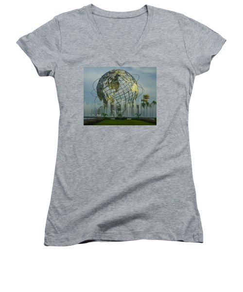 The Unisphere Women's V-Neck