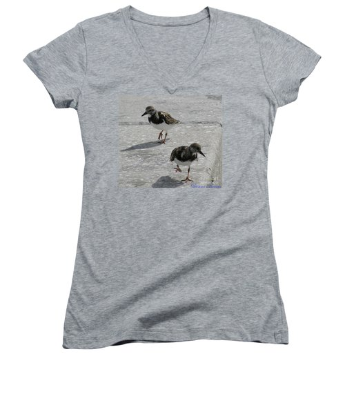 The Walk Women's V-Neck (Athletic Fit)