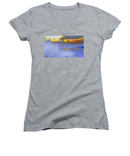 The Wave Which Got Me Women's V-Neck T-Shirt