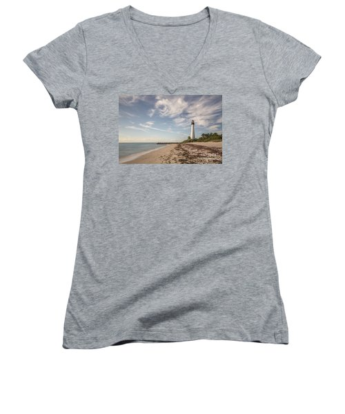 The Way Back Home Women's V-Neck T-Shirt
