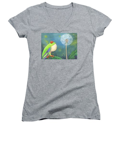 The Wish Women's V-Neck T-Shirt