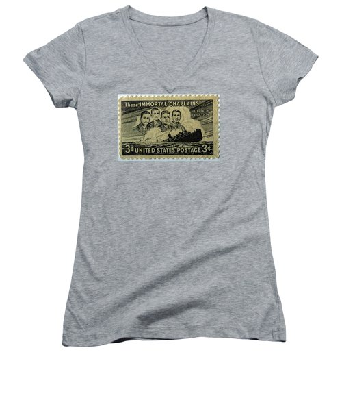 These Immortal Chaplains Women's V-Neck