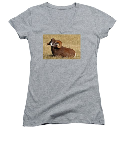 This Is My Space Women's V-Neck T-Shirt (Junior Cut) by Vivian Christopher