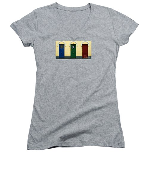 Three Doors Women's V-Neck