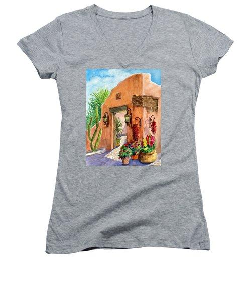 Tia Rosa Time Women's V-Neck T-Shirt