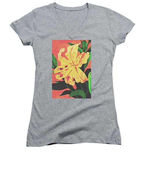 Tiger Lily Women's V-Neck