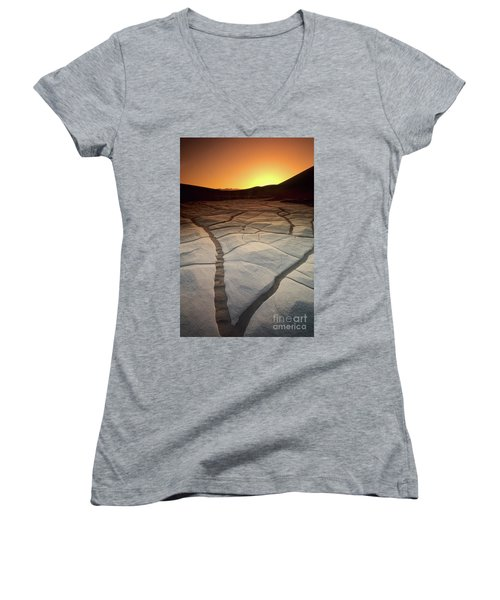 Timeless Death Valley Women's V-Neck (Athletic Fit)