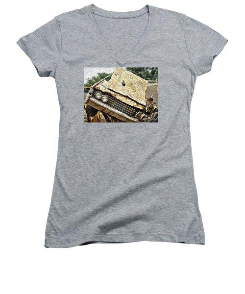 Tired And Broken Women's V-Neck T-Shirt