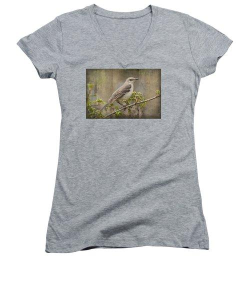 To Still A Mockingbird Women's V-Neck T-Shirt