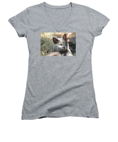Tom Cat Women's V-Neck (Athletic Fit)