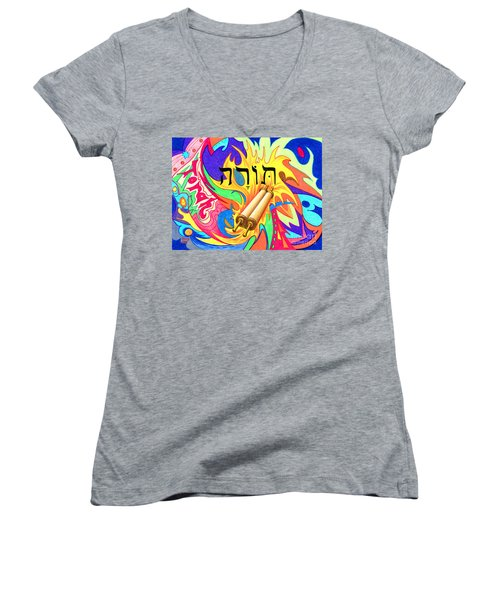 Torah Women's V-Neck