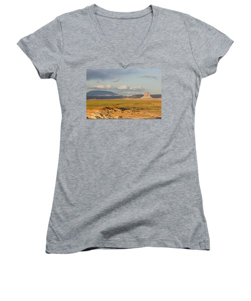 Tower Butte View Women's V-Neck