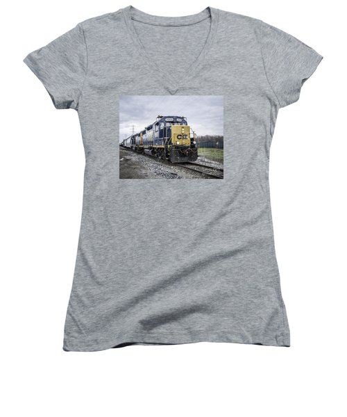 Train Engine 2668 Women's V-Neck (Athletic Fit)