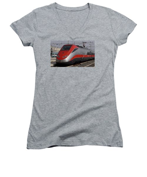 Train Out Of Rome Women's V-Neck
