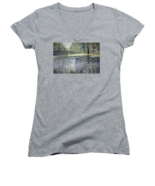 Tranquillity Women's V-Neck (Athletic Fit)