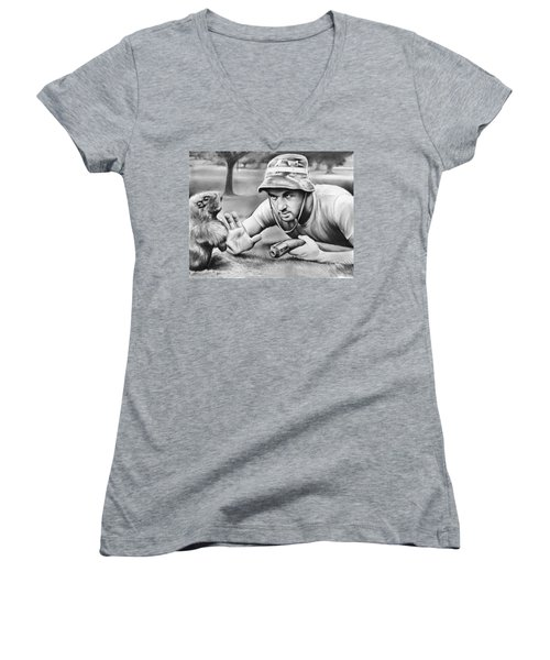 Tribute To Caddyshack Women's V-Neck (Athletic Fit)