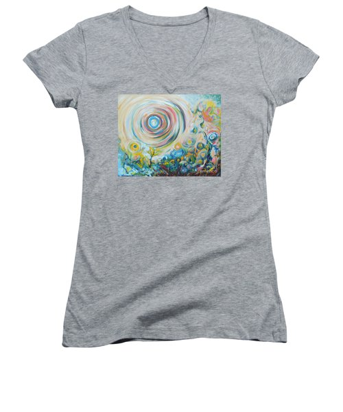 Tribute To Gary Women's V-Neck (Athletic Fit)