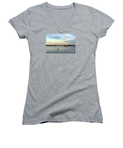 Tug Boat Women's V-Neck T-Shirt
