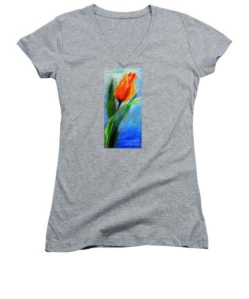 Tulip - Flower For You Women's V-Neck