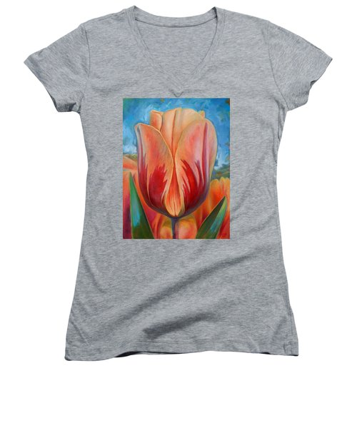 Tulip Women's V-Neck (Athletic Fit)