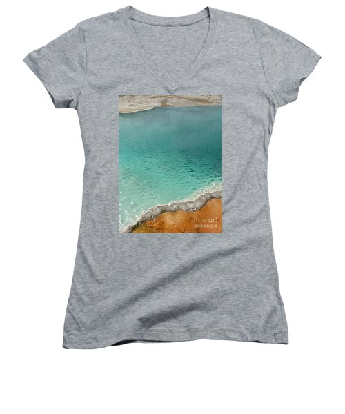 Turquoise Jewels Women's V-Neck T-Shirt