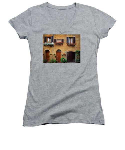 Tuscan Homes Women's V-Neck