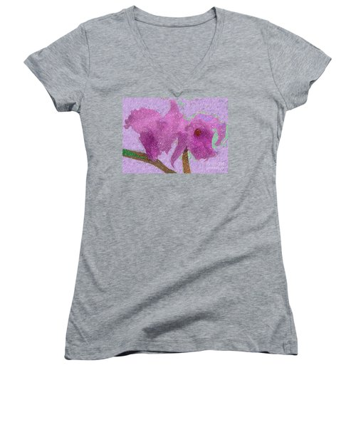 Two Hothouse Beauties Women's V-Neck (Athletic Fit)