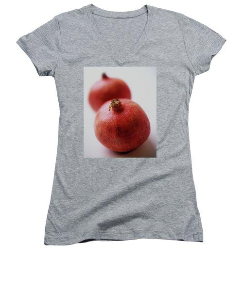 Two Pomegranates Women's V-Neck