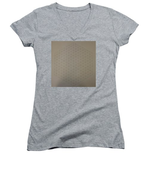 Two To The Power Of Nine Or Eight Cubed Women's V-Neck