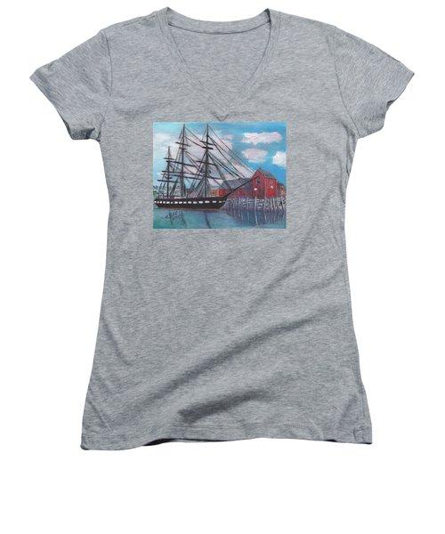 Unconstitutional Women's V-Neck T-Shirt