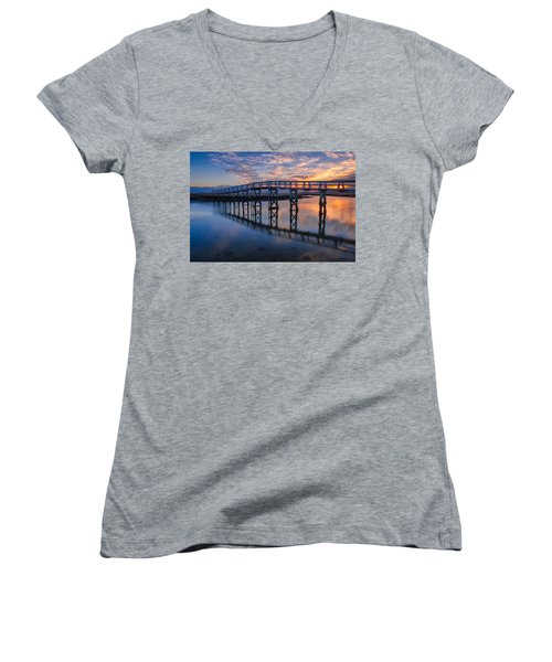 Under The Boardwalk Women's V-Neck