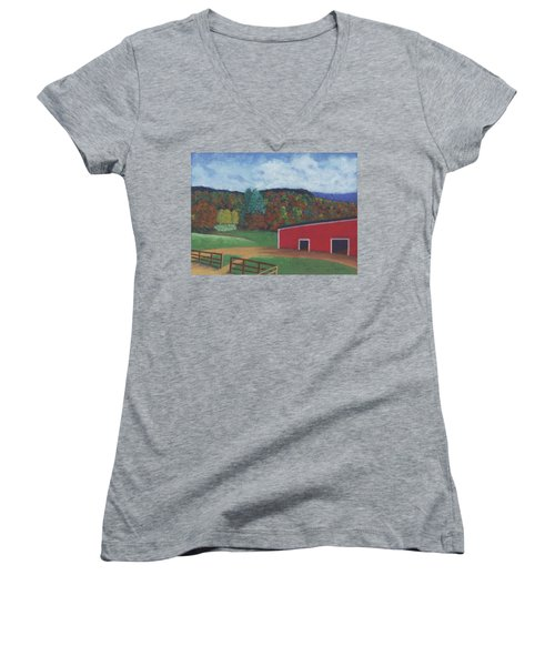 Undermountain Autumn Women's V-Neck