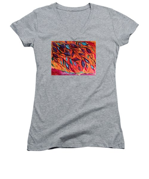 Underneath Women's V-Neck T-Shirt