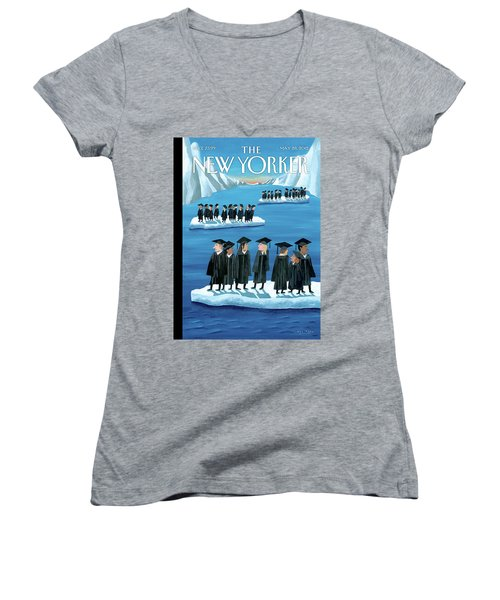 New Yorker May 28th, 2012 Women's V-Neck