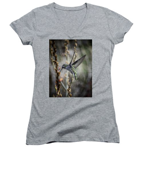 Up In The Air Women's V-Neck